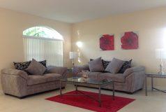 salon villa meublee en floride