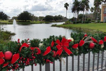 Décorations de noël en Floride
