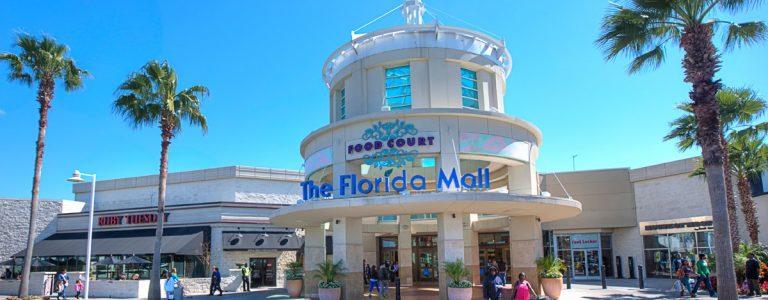 entree d'un centre commercial à Orlando