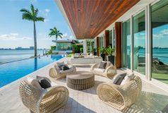 maison a vendre en bord de mer à miami