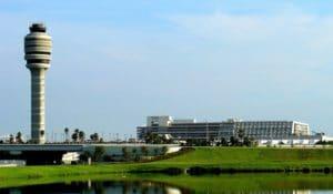 Terminaux de l'aéroport international d'Orlando en 2018