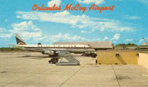 Aéroport d'Orlando à la fin des années 60
