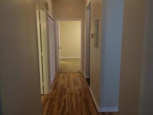couloir de l'appartement FT3 disponible à la vente en Floride