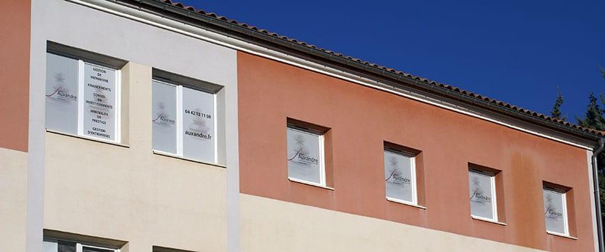 Auxandra, bureaux en France à Eguilles