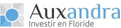 logo de la société Auxandra, spécialisée dans l'investissement immobilier en Floride