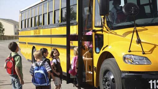 Bus de ramassage scolaire aux USA et en Floride