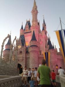 chateau cendrillon magic kingdom blog auxandra investir en floride