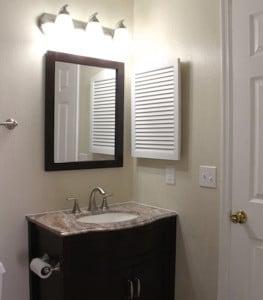 salle de bain avec marbre du condo cpm3 en floride