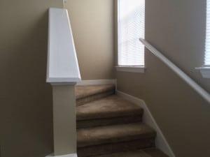 escalier menant a la mezzanine du condo a vendre cpm8 a orlando