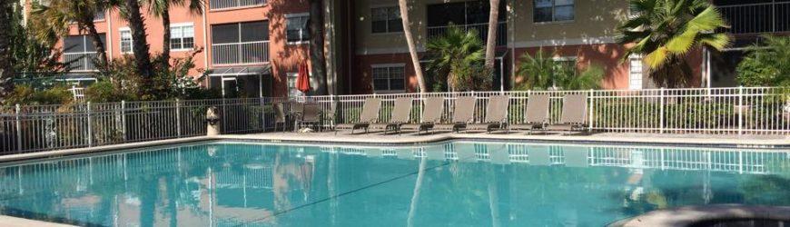 piscine dans une résidence de condos CS1 Orlando