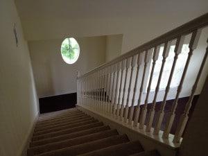 escalier vers mezzanine FT2 du condo en vente a orlando