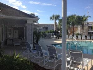 piscine de la residence lake mary en floride