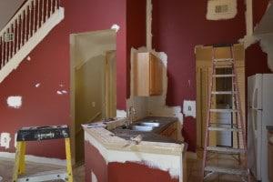 condo en cours de rénovation avec Auxandra en Floride