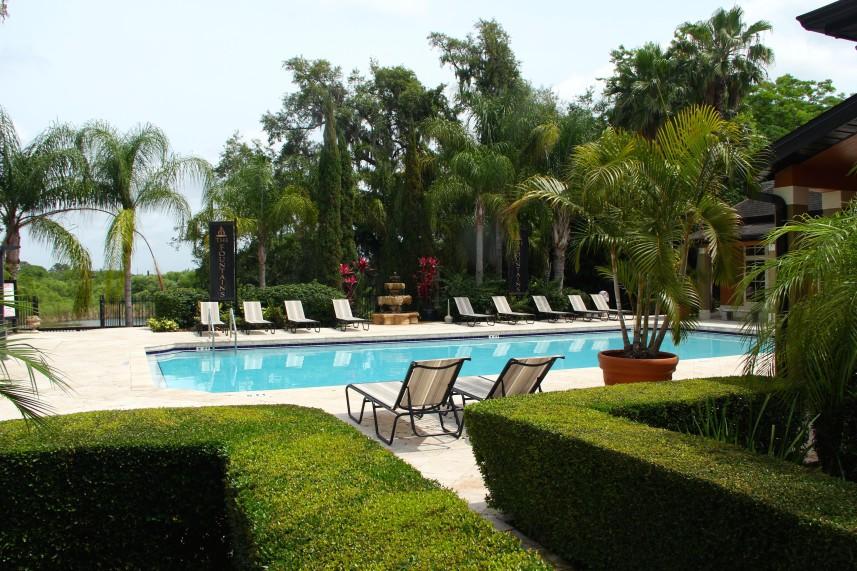 piscine de la residence de condos en vente FT1 à orlando