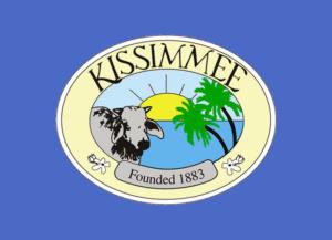drapeau de la ville de kissimmee