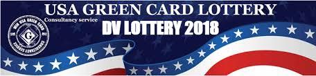 Logo de la DV lottery américaine