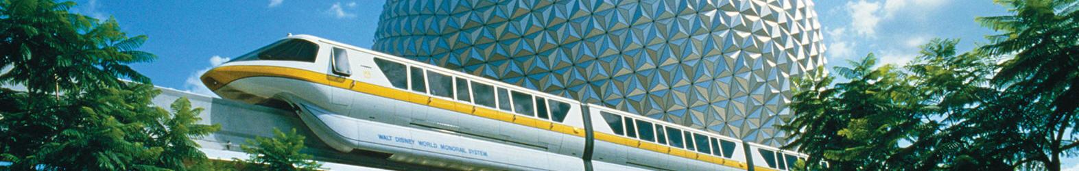 Boule d'Epcot qui est devenue son symbole officiel