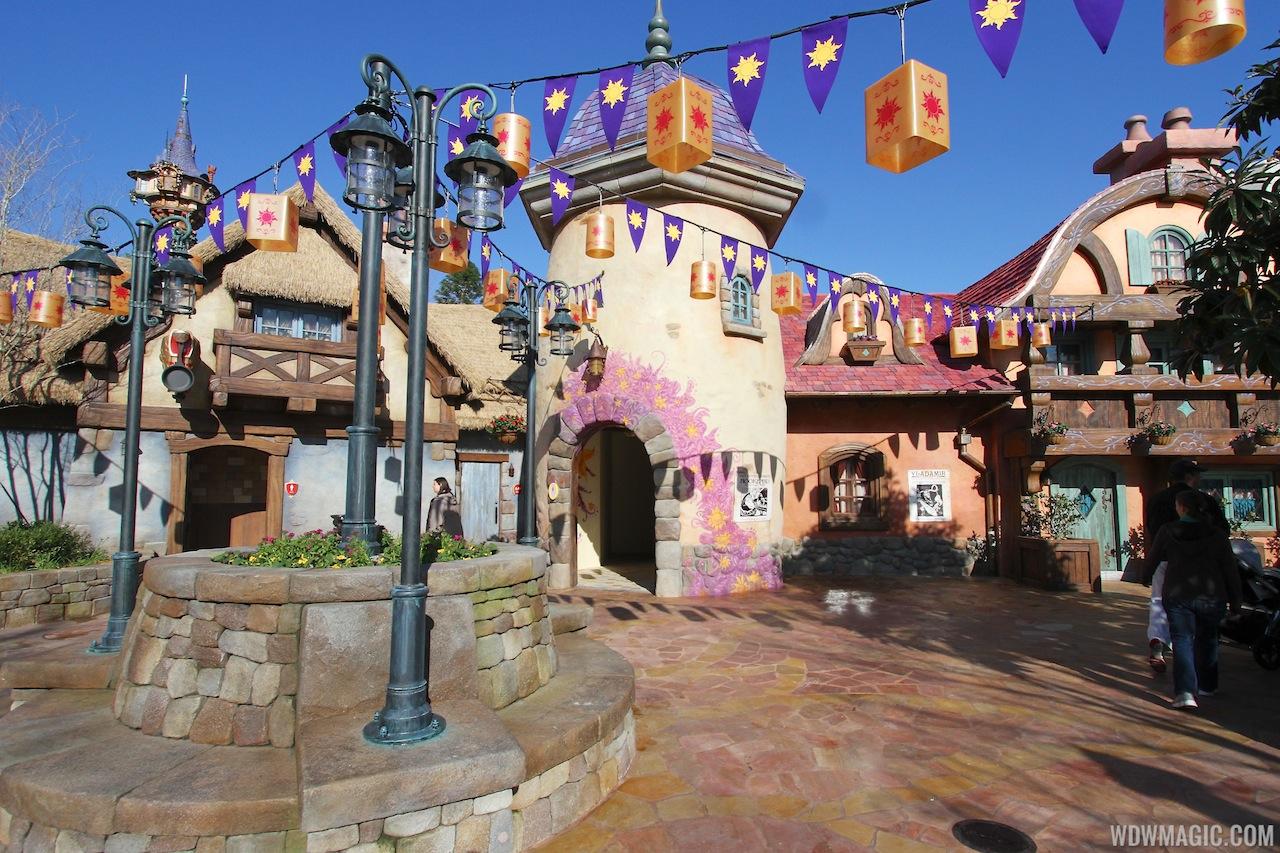 Fantasyland à Magic Kingdom en Floride