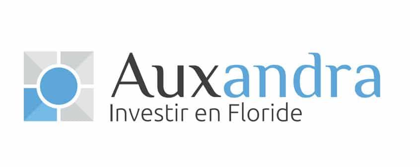 logo investir en floride avec Auxandra