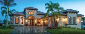 maison en Floride de type villa individuelle