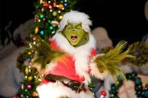 Le Grinch pendant la saison de Noël à Universal Studios Orlando
