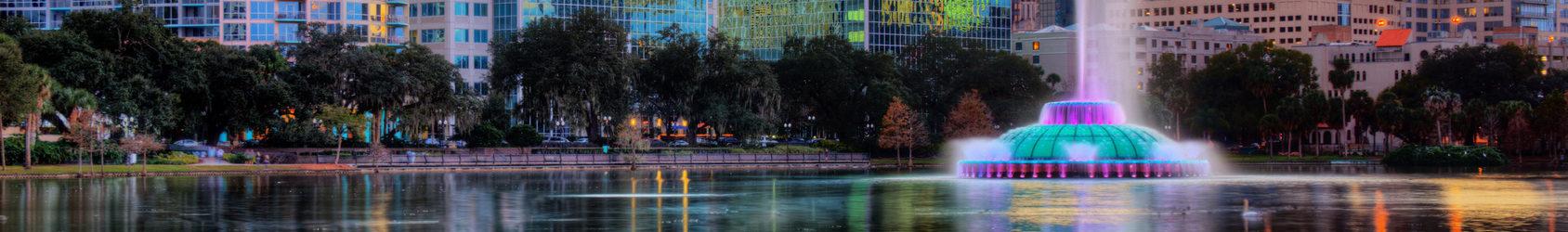 Photo du centre ville d'Orlando Blog auxandra