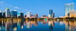 Ville d'Orlando en Floride