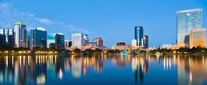 immobilier dans la ville d'Orlando en Floride