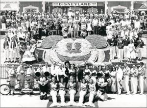 Ouverture de Disneyland en Californie en 1955