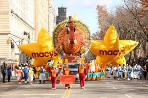 Parade de Macys à New-York pour Thanksgiving 2016