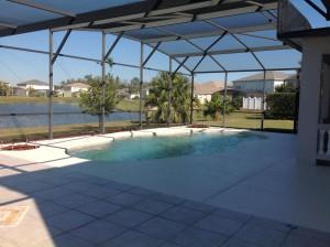 piscine vue lac villa meublee a la vente en floride
