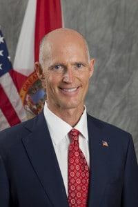 Rick Scott est le gouverneur de la Floride en 2016