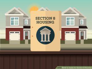 illustratin de la section 8 en immobilier aux USA