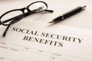 un contrat de sécurité sociale américaine