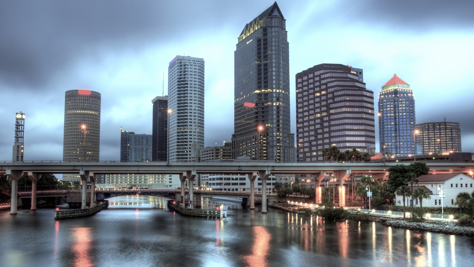 Ville de Tampa en Floride