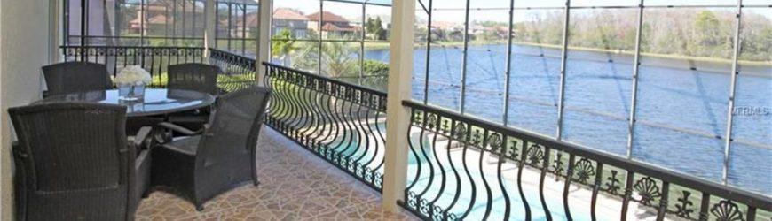Villa avec vue sur le lac à vendre en Floride