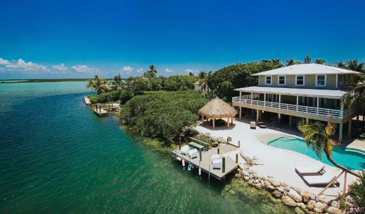 villa en Floride située dans les Keys au sud de Miami