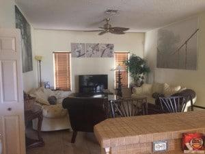 salon de la villa meublée vm4 à vendre en Floride