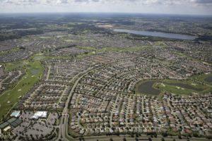 the villages est un quartier composé à 100% de retraités en Floride