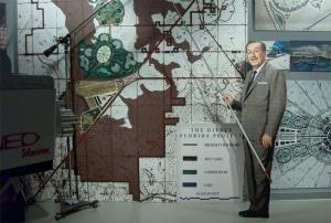 Walt Disney World présentant son projet du district Disney en Floride